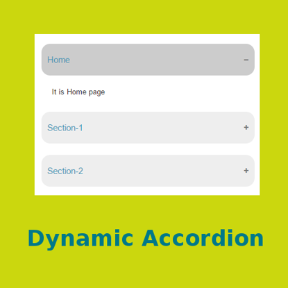 Picture of Dynamic Accordion 1.0